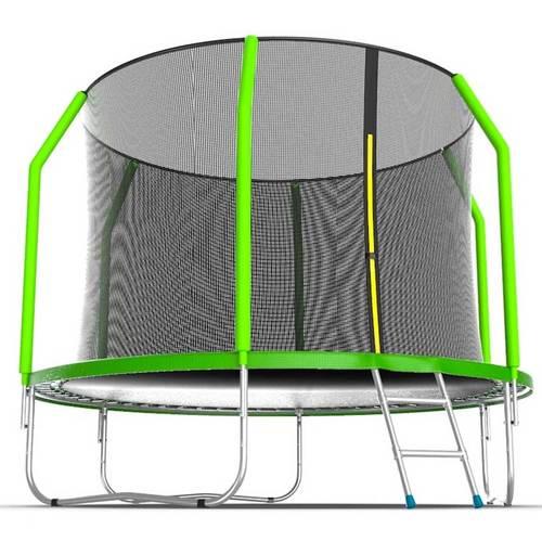 Батут EVO Jump Cosmo 10ft (3,05м) с сеткой и лестницей Без нижней сетки