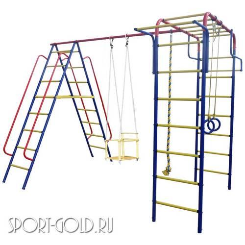 Детский спортивный комплекс для дачи ПИОНЕР Дачный Детские качели