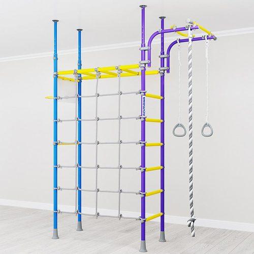 Детский спортивный комплекс ROMANA R4 Сиренево-голубой