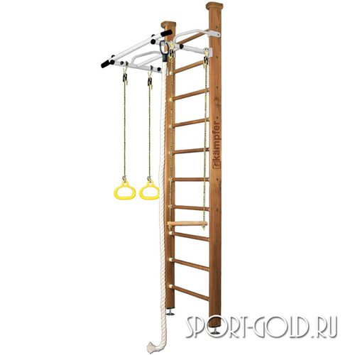 Детский спортивный комплекс Kampfer Helena Ceiling 2.67 м, Ореховый