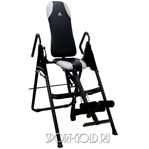 Инверсионный стол DFC SJ7200A/B с сиденьем Черный
