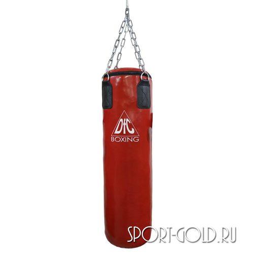 Боксерский мешок DFC HBPV2.1, 100х30 см, 30 кг, ПВХ Красный