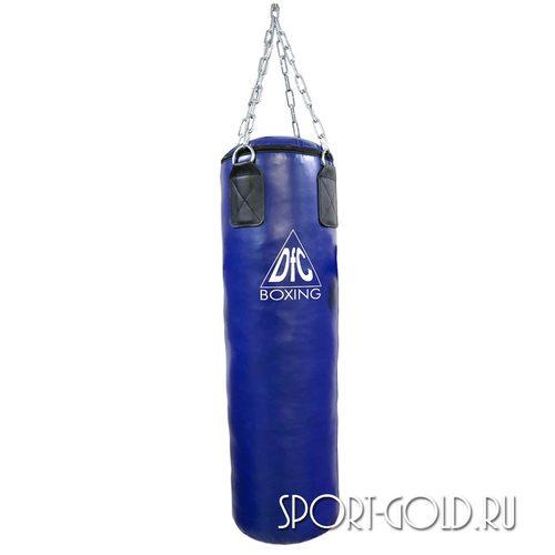 Боксерский мешок DFC HBPV2.1, 100х30 см, 30 кг, ПВХ Синий