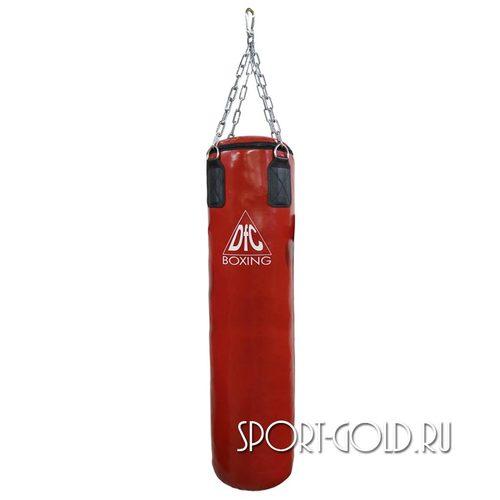 Боксерский мешок DFC HBPV3.1, 120х30 см, 35 кг, ПВХ Красный