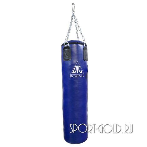 Боксерский мешок DFC HBPV3.1, 120х30 см, 35 кг, ПВХ Синий