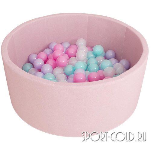 Сухой бассейн с шариками ROMANA Airpool розовый, бирюзовый Розовый