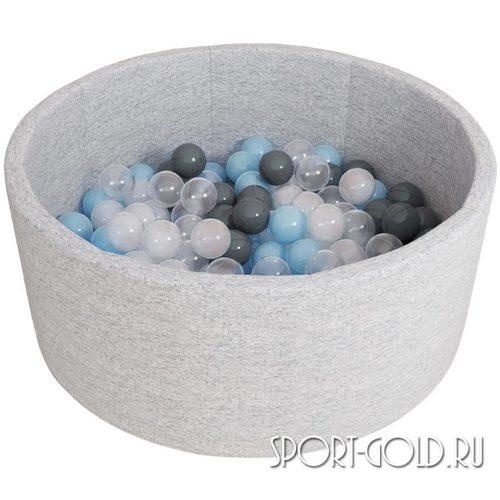 Сухой бассейн с шариками ROMANA Airpool синий, серый Серый