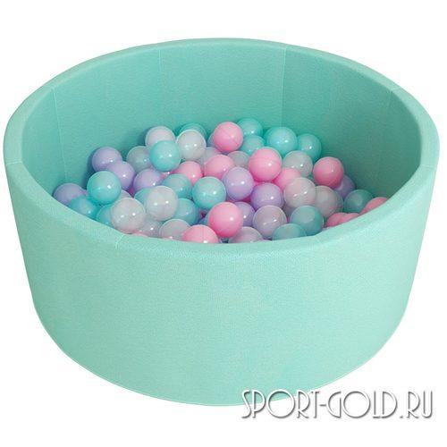 Сухой бассейн с шариками ROMANA Airpool розовый, бирюзовый Бирюзовый