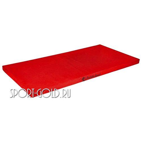 Спортивный мат Perfetto Sport №6, 200х100х10 см, нескладной Красный