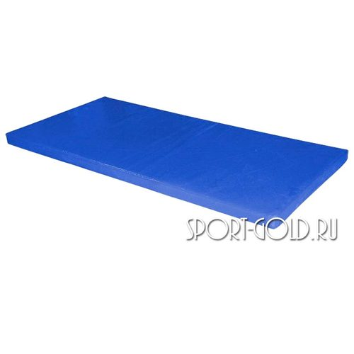 Спортивный мат АССОРТИ №6, 200х100х10 см Синий