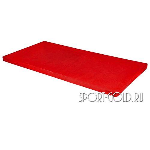 Спортивный мат АССОРТИ №6, 200х100х10 см Красный