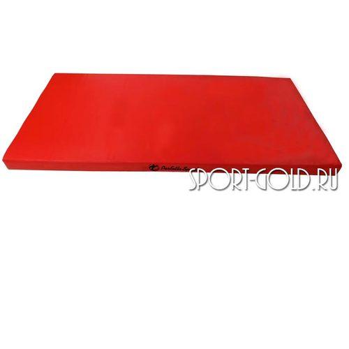 Спортивный мат Perfetto Sport №9, 150х100х10 см, нескладной Красный
