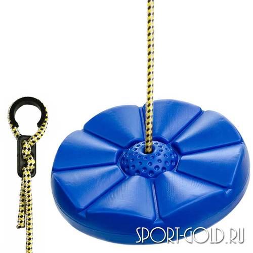 Аксессуар для ДСК Kampfer Качели-диск Лиана пластиковые Синие