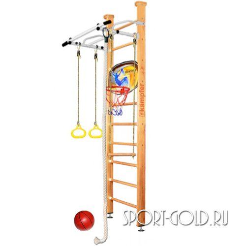 Детский спортивный комплекс Kampfer Helena Ceiling Basketball Shield 2.67 м, Натуральный (лак)