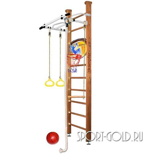 Детский спортивный комплекс Kampfer Helena Ceiling Basketball Shield 2.67 м, Ореховый