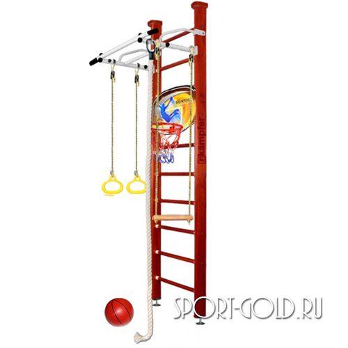 Детский спортивный комплекс Kampfer Helena Ceiling Basketball Shield 2.67 м, Вишневый