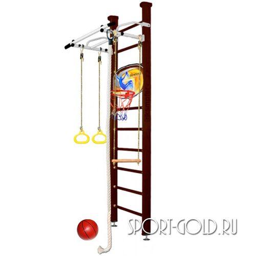 Детский спортивный комплекс Kampfer Helena Ceiling Basketball Shield 2.67 м, Шоколадный