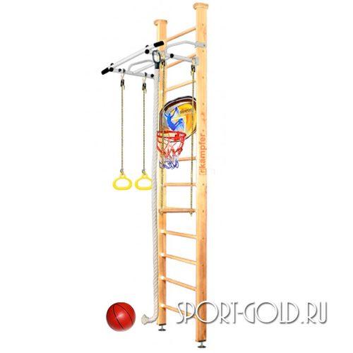 Детский спортивный комплекс Kampfer Helena Ceiling Basketball Shield 3.0 м, Натуральный (лак)