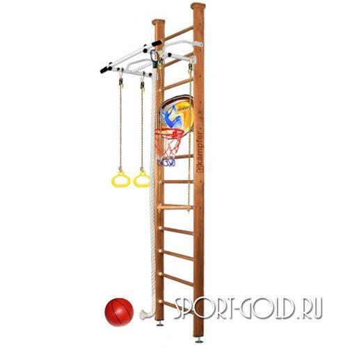 Детский спортивный комплекс Kampfer Helena Ceiling Basketball Shield 3.0 м, Ореховый
