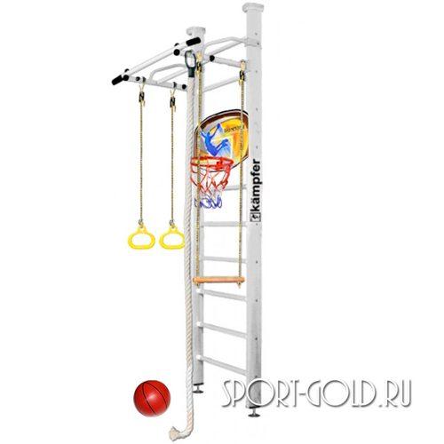 Детский спортивный комплекс Kampfer Helena Ceiling Basketball Shield 2.67 м, Жемчужный