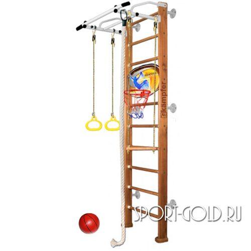 Детский спортивный комплекс Kampfer Helena Wall Basketball Shield 2.42 м, Ореховый