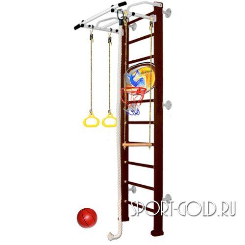 Детский спортивный комплекс Kampfer Helena Wall Basketball Shield 2.42 м, Шоколадный