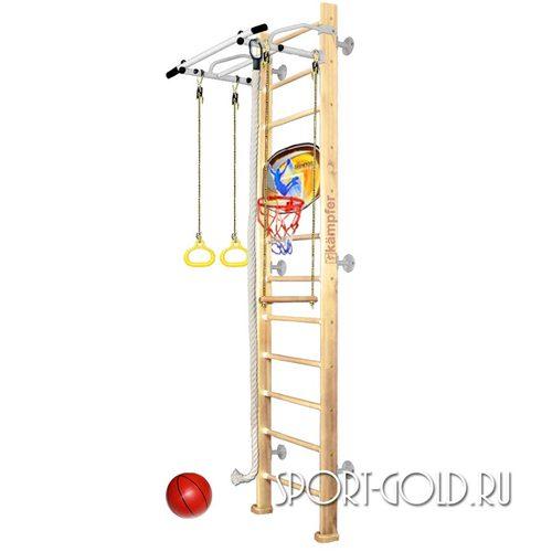 Детский спортивный комплекс Kampfer Helena Wall Basketball Shield 3.0 м, Без покрытия