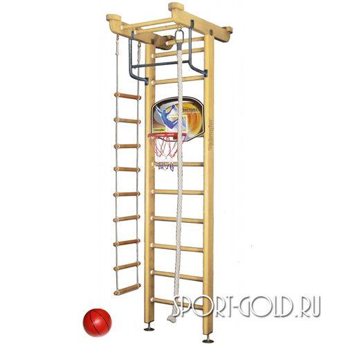 Детский спортивный комплекс Kampfer Little Sport Ceiling Basketball Shield 2.71 м, Натуральный (лак)
