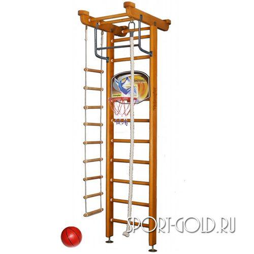 Детский спортивный комплекс Kampfer Little Sport Ceiling Basketball Shield 2.71 м, Ореховый