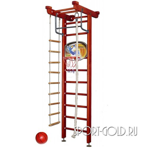 Детский спортивный комплекс Kampfer Little Sport Ceiling Basketball Shield 2.71 м, Вишневый