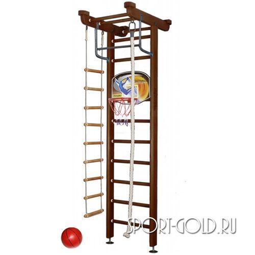 Детский спортивный комплекс Kampfer Little Sport Ceiling Basketball Shield 2.71 м, Шоколадный