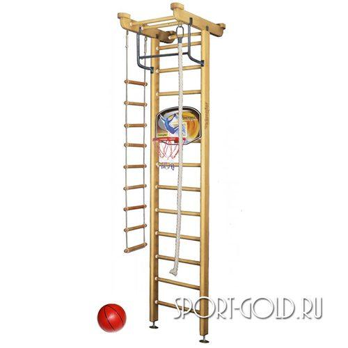 Детский спортивный комплекс Kampfer Little Sport Ceiling Basketball Shield 3.0 м, Натуральный (лак)
