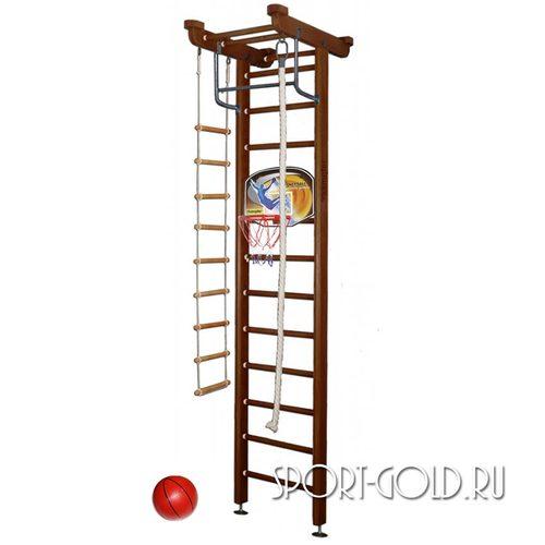 Детский спортивный комплекс Kampfer Little Sport Ceiling Basketball Shield 3.0 м, Шоколадный