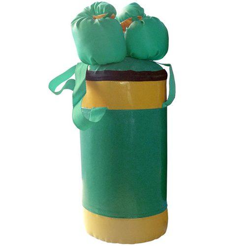 Боксерский мешок АССОРТИ №2 с перчатками Зеленый