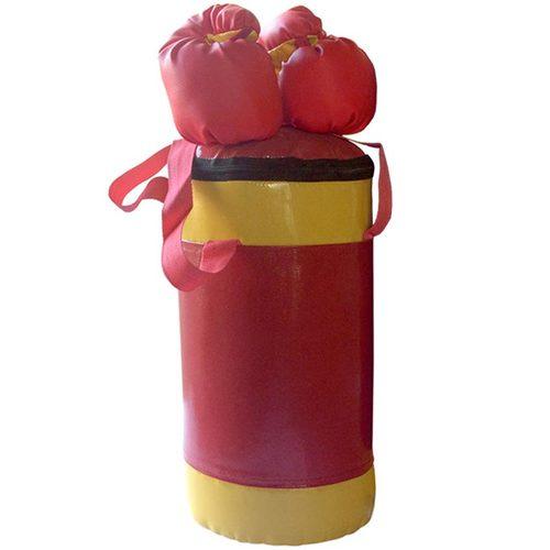 Боксерский мешок АССОРТИ №2 с перчатками Красный
