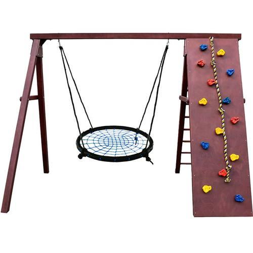 Детский спортивный комплекс для дачи Kampfer Rocky Гнездо 100 см синее