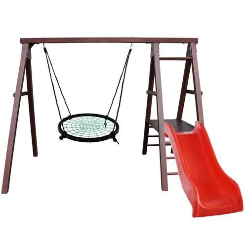 Детский спортивный комплекс для дачи Kampfer Lucky Гнездо 100 см зеленое