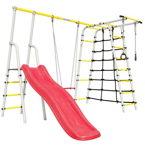 Детский спортивный комплекс для дачи ROMANA Богатырь Фанерные качели