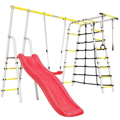 Детский спортивный комплекс для дачи ROMANA Богатырь Пластиковые качели