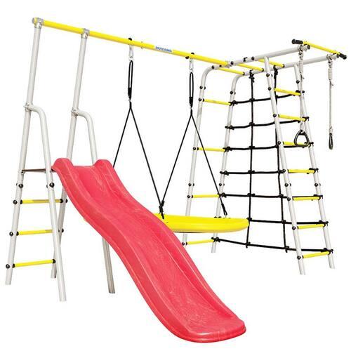 Детский спортивный комплекс для дачи ROMANA Богатырь Качели Малыш