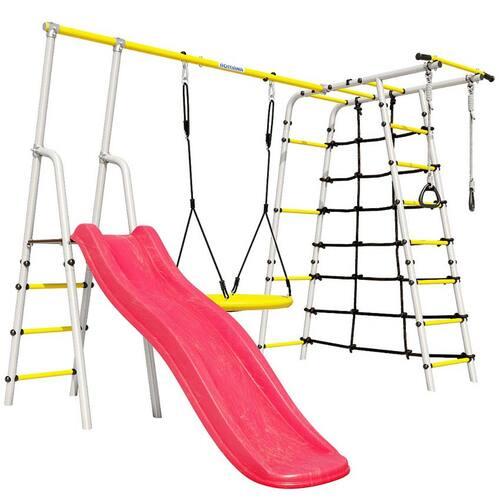 Детский спортивный комплекс для дачи ROMANA Богатырь Качели Гнездо