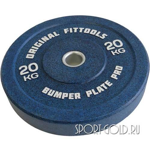 Диски для штанги Original FitTools бамперный 51 мм 20 кг