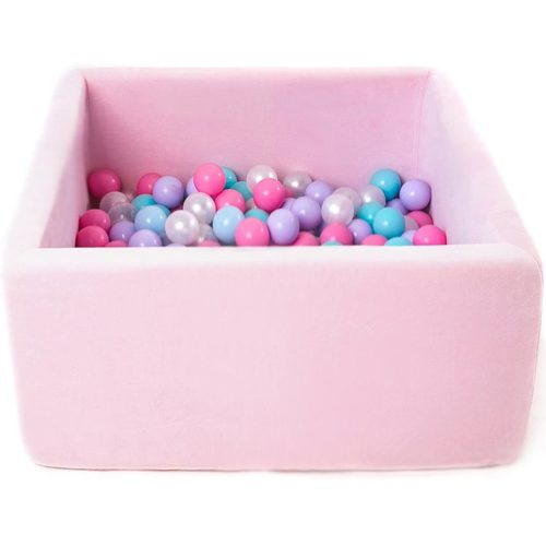 Сухой бассейн с шариками ROMANA Airpool BOX розовый, голубой, серый Розовый