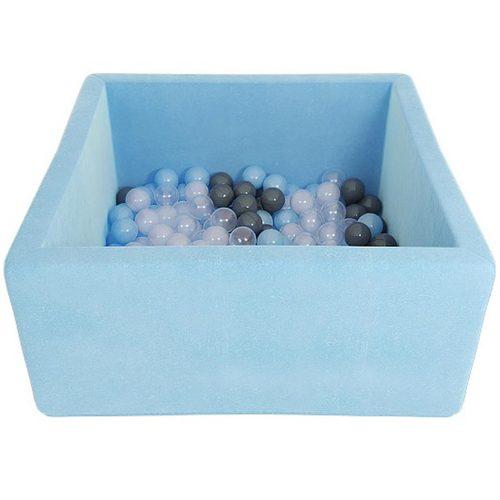 Сухой бассейн с шариками ROMANA Airpool BOX розовый, голубой, серый Голубой