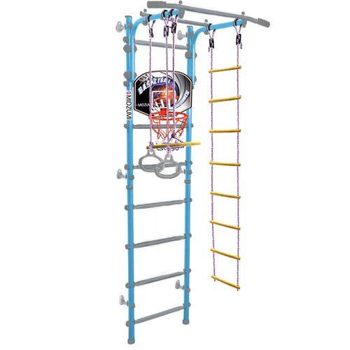 Детский спортивный комплекс Midzumi Banji Kabe Basketball Shield Небесная лазурь