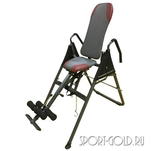 Инверсионный стол DFC SJ7200A/B с сиденьем Серый