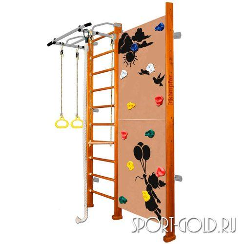Детский спортивный комплекс Kampfer Jungle Wall (Girl, Boy) 2.42 м, Классический