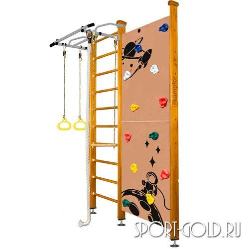 Детский спортивный комплекс Kampfer Jungle Ceiling (Boy, Girl) 2.67 м, Ореховый