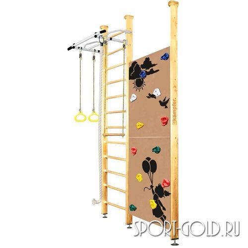 Детский спортивный комплекс Kampfer Jungle Ceiling (Boy, Girl) 3.0 м, Натуральный (лак)
