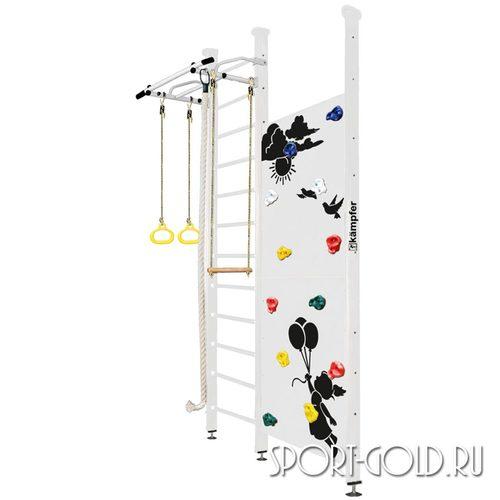 Детский спортивный комплекс Kampfer Jungle Ceiling (Boy, Girl) 3.0 м, Жемчужный